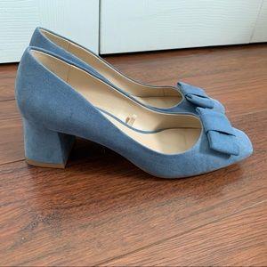 Zara Baby Blue Flat/Sandal